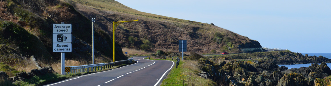 A77 Average Speed Camera