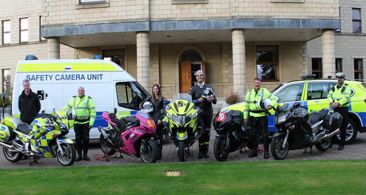 Team Tasker with Safety Camera Unit and Police Scotland