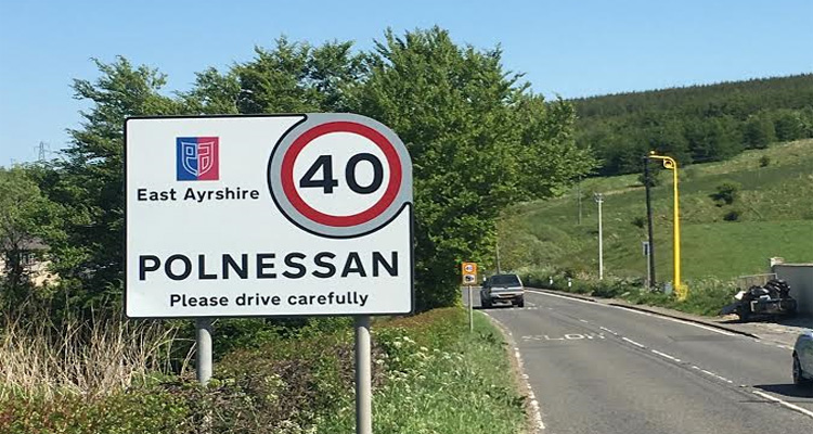 Polnessan Average Speed Camera