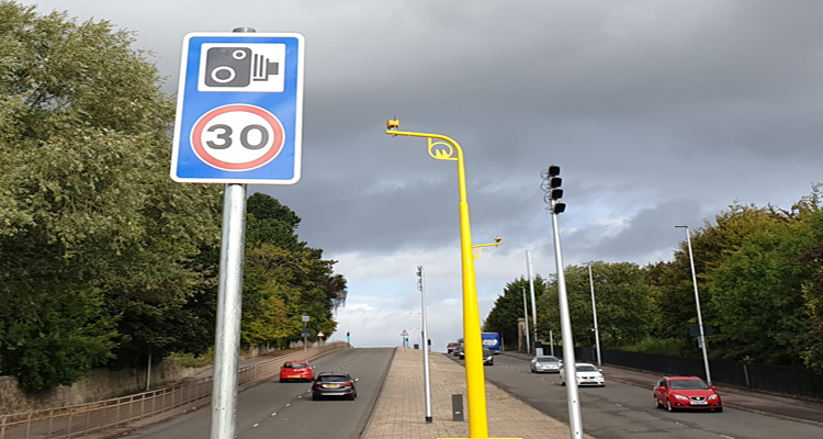Mill Street Rutherglen Average Speed Camera